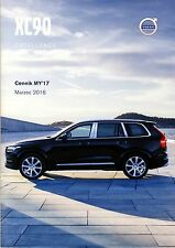 Volvo XC90 Excellence 03 / 2016 catalogue brochure limited edition Sondermodell