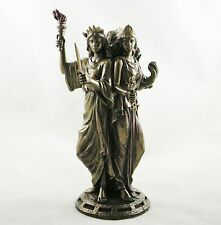 Greek Goddess Hekate Goddess of Magic Triple Figurine Hecate Statue NEW IN ! UK