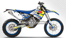 2009 2010 2011 2012 Husaberg FE FX FS Enduro Bike Decal Wrap Kungfu Graphics Kit