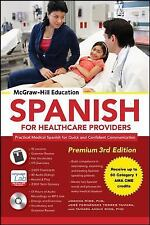 McGraw-Hill Education Spanish for Healthcare Providers, Premium 3rd Edition, Río