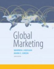 Global Marketing by Warren J. Keegan Paperback Book (English) US version