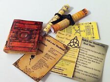 DOLLS HOUSE WITCH/WIZARD BOOK,SCROLLS, AND SHEETS SET