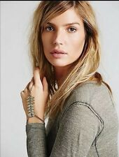 Free People Stone Spine Bracelet Ring Hand Piece Retails $38.00