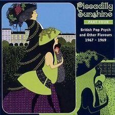 Piccadilly Sunshine 4 CD SEALED Psych Gervase/Lace/Laurels/Gaslight/Factotums+