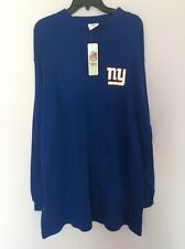Nfl Team Apperal Blue Top Shirt For MAN NY Giants  Big And Tall 6x Nwt