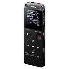 Sony Stereo IC Recorder ICD-UX560F Black 4GB Japan Free Shipping With Tracking