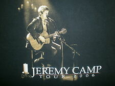 JEREMY CAMP CONCERT T SHIRT Christian Worship Praise Music Rock Live 2009 Tour