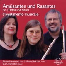 Divertimento Musicale - Amuesantes und Rasantes für 2 Flöte und Klavier (OVP)