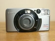 ☆ Canon Sure Shot 105 Zoom 38-105 mm Battery Lithium 3V FILM USED CAMERA USA ☆