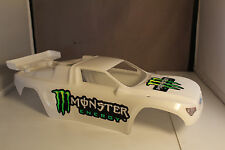 NEW BODY SHELL FOR ELECTRIC TRAXXAS RUSTLER/RUSTLER VXL -GLOSS WHITE