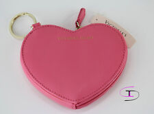 NWT VICTORIA'S SECRET PINK Change Purse Key Chain Heart Limited Edition WT2