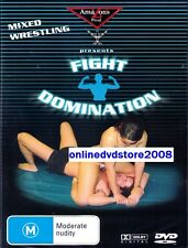 FIGHT DOMINATION - Mixed WRESTLING ACTION DVD (NEW & SEALED) Region 4