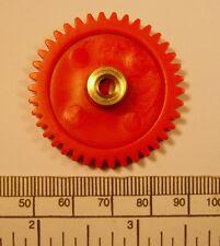 Gear - brass hub 4mm bore 38 teeth - with grub screw