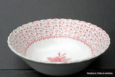 "JOHNSON BROS BROTHERS ~ ROSE BOUQUET PINK ~ 8 1/4"" ROUND VEGETABLE BOWL .......&"