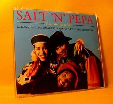 MAXI Single CD Salt 'N' Pepa You Showed Me 3TR 1991 Rap Hip Hop House