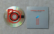 "CD AUDIO MUSIQUE FR / FLORENT PAGNY ""CHATELET LES HALLES"" CDS 2T + 1 VIDEO 2001"