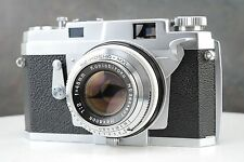 :Konica III 35mm Film Rangefinder Camera 48mm F2 - For Parts or Repair