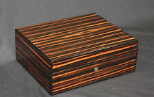 Elie Bleu EBONY 75CT Humidor New!
