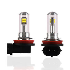 2pcs H11 H8 H9 CREE LED Light Fog ATV SUV Driving DRL Lamp 6000K Bulb High Power