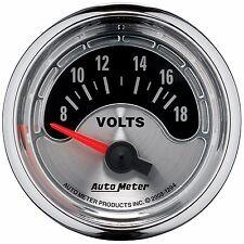 """AutoMeter 2-1/16"""" American Muscle Analog Voltmeter Gauge Kit * 1294 *"""