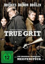 DVD - True Grit - Matt Damon - Jeff Bridges - Hailee Steinfeld - Jack Fletcher