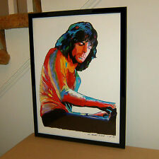 Richard Wright, Pink Floyd, Keyboards, Vocals, Hard Rock, 18x24 POSTER w/COA
