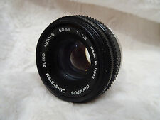 EXCELLENT OLYMPUS OM SYSTEM ZUIKO AUTO-S M/C F1.8  50 mm. made in japan ref 31
