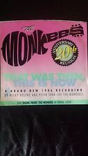 """The MONKEES 45 Picture Sleeve 20th Anniv. Reunion w/ """" Theme"""""""