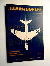 Guillemard AEROMODELES 1968 classification construction aeromodelisme aviation