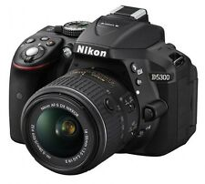 Nikon D5300 24.2 DSLR CAMERA with AF-S 18-55mm VRII Kit Lens !!