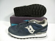 SAUCONY SHADOW ORIGINAL LOW SNEAKERS WOMEN SHOES NAVY 1155-3 SIZE 5.5 NEW