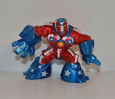 "2008 Iron Patriot 2.5"" Action Figure Marvel Super Hero Squad Iron Man Avengers"
