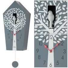 AMS Quartz Montre Murale avec pendule Coucou gris neuf