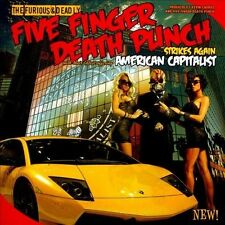 1 CENT CD American Capitalist [CLEAN] - Five Finger Death Punch