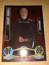 Force coronó Star Wars Movie 1 Star-mapa nº 207 el Conde Dooku Walker
