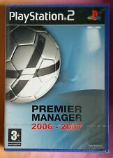 PREMIER MANAGER 2006 - 2007 PS2 FOOTBALL GAME new & SONY sealed UK PLAYSTATION 2
