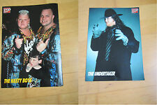 PopRocky -Poster A4 - WWF - The Undertaker / The Nasty Boys