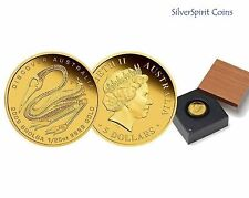 2009 DISCOVER AUSTRALIA BROLGA 1/25 oz Gold Proof Coin