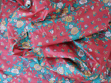 3 Yards * Vintage Cyrus Clark * Chintz * Home Decor Fabric Yardage