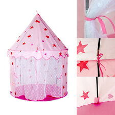 Princess Castle Tent Baby Kids Child Portable Indoor Outdoor Playhouse Toy Gift