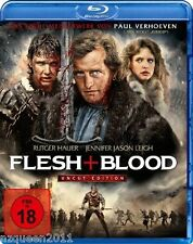 Flesh + Blood - Uncut Edition [Blu-ray] Rutger Hauer   * NEU & OVP *