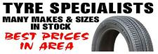TYRE SPECIALISTS PVC OUTDOOR BANNER GARAGE WORKSHOP 2FT X 6FT