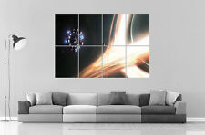 INTERSTELLAR STATION ESPACE GALAXIE Wall Art Poster Grand format A0 Large Print