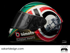 CASCO SHOEI LIMITED EDITION BIMOTA CLASSIC PARTS - HELMET SHOEI LIMITED EDITION