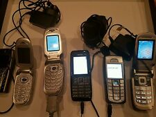 Nokia  Samsung Mobile Phone + Charger (Old School) Fully Working x4