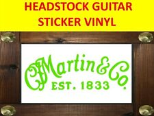 MART C F GREEN STICKER ED SHEERAN SIGNATURE HEADSTOCK DECAL VISIT MY STORE