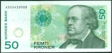➡ NORWAY 46d - 50 Kroner 2011 UNC ➡ FREE SHIPPING €100+
