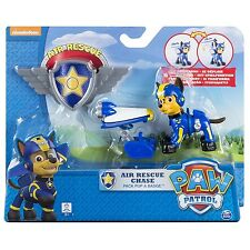 Paw Patrol Air Rescue Chase Pack Pup and Badge Playset Children Kids Toys Figure