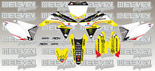 Suzuki RMZ250 RM250Z 2012 2013 2014 2015 2016 2017 graphic kit Carmichael decals
