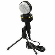 Professional Condenser Stereo Sound Mircrophone Mic for Singing Recording 3.5mm